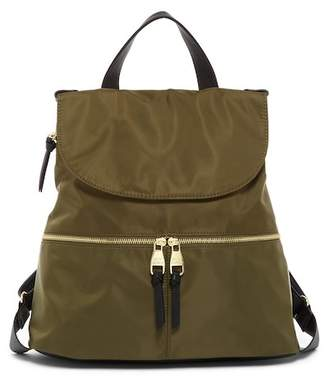 Steve Madden Zip Flap Nylon Backpack