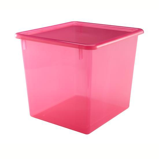 Baby Essentials Red Cube Top Box