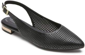Rockport Adelyn Perforated Slingback Flat