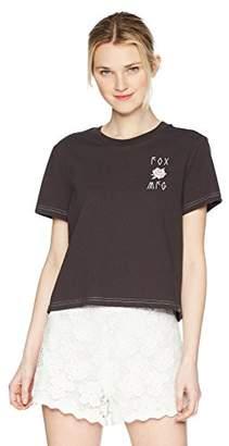 Fox Junior's Rosey Crop Knit Top