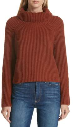 Lewit Ribbed Cashmere Turtleneck Sweater