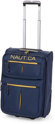 "Nautica 21"" Navy & Yellow Maritime Rolling Upright"