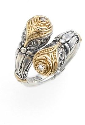 Women's Konstantino 'Iliada' Champagne Diamond Ring $990 thestylecure.com