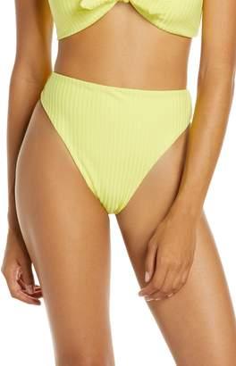 Dolce Vita High Waist High Leg Bikini Bottoms