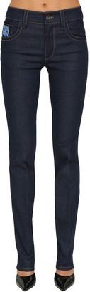 Prada Mid Rise Slim Fit Denim Jeans