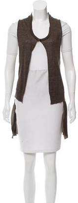 Hache Sleeveless Knit Vest