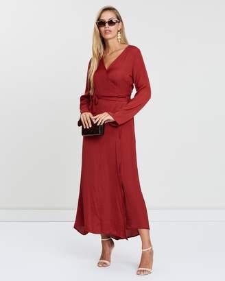 Cotton On Woven Satin Maxi Dress