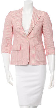 Boy. by Band of Outsiders Notched Lapel Striped Blazer w/ Tags $115 thestylecure.com