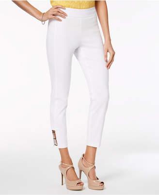 Thalia Sodi Hardware-Embellished Pull-On Pants, Created for Macy's