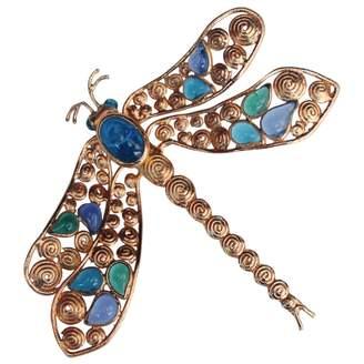 Loewe Vintage Blue Metal Pins & brooches