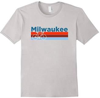 Milwaukee Retro Bike & Mountain Bike - Wisconsin T-Shirt