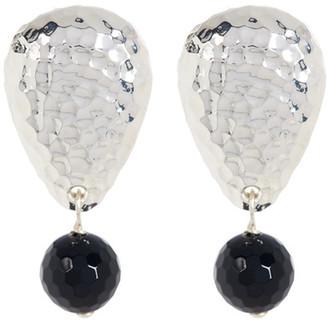 SIMON SEBBAG Sterling Silver Stone Drop Earrings $98 thestylecure.com