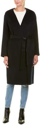 Vince Reversible Belted Wool & Cashmere-Blend Coat