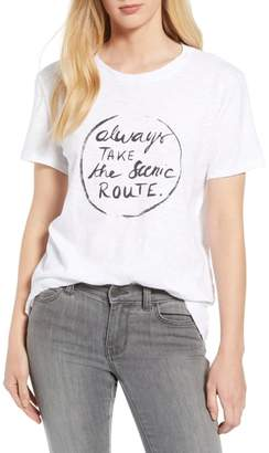 Caslon Off Duty Graphic Tee