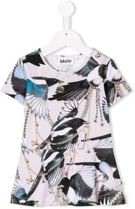 Molo magpie print T-shirt