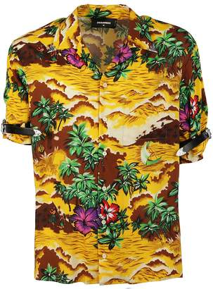 DSQUARED2 Dsqured2 Hawaiian Shirt