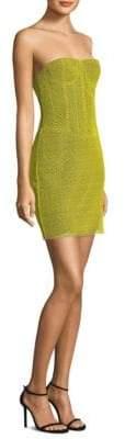 Diane von Furstenberg Strapless Corset Dress