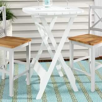 Winston Porter Nivedita Folding Plastic/Resin Bistro Table Winston Porter