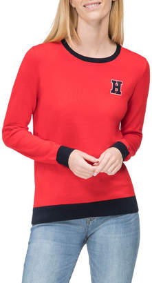 Tommy Hilfiger Organic Cotton Crew Neck Jumper