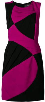 Capucci contrast sleeveless dress