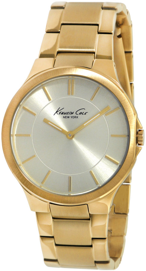 KENNETH COLE NEW YORK Women's Gold Slim Case Watch