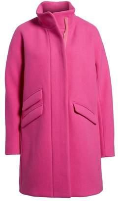 J.Crew J. Crew Stadium Cloth Wool Blend Cocoon Coat (Petite)