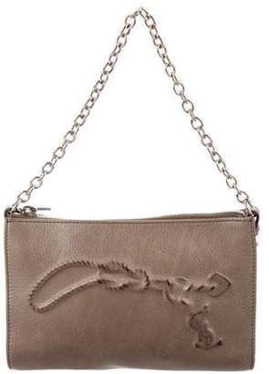 Saint Laurent Mini Leather Handle Bag