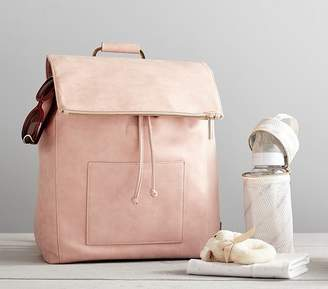 Pottery Barn Kids Rosie Pope Highbury Hill Diaper Bag Backpack, Blush