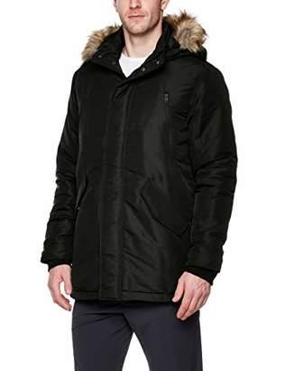 First Stop Men's Parka DownAlternative Outdoor Jacket