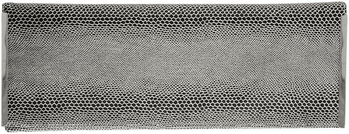 Reptile Textured Foldover Clutch
