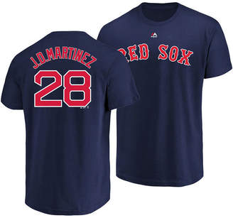 Majestic Men's J.d. Martinez Boston Red Sox Official Player T-Shirt