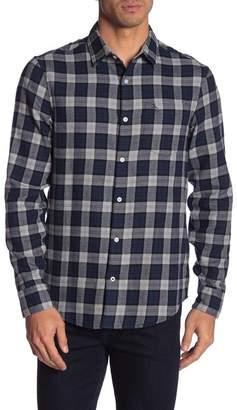 Original Penguin Plaid Flannel Long Sleeve Heritage Slim Fit Shirt