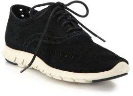 Cole Haan ZeroGrand Suede Oxford Sneakers