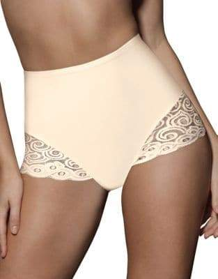 Bali Two-Pack Control Lace Briefs