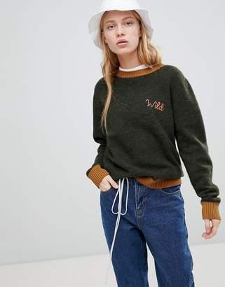 Shae Wild Alpaca and Merino Wool Blend Sweater