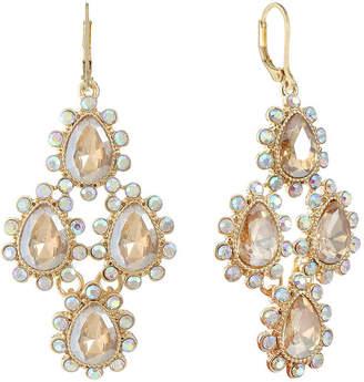 MONET JEWELRY Monet Jewelry Brown Chandelier Earrings