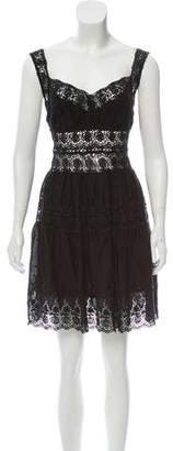 LoveShackFancy Guipure Lace Mini Dress w/ Tags