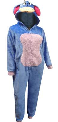 Disney Women's Eeyore Cozy One Piece Pajama