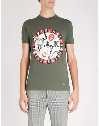 Vivienne Westwood Joker organic cotton-jersey T-shirt