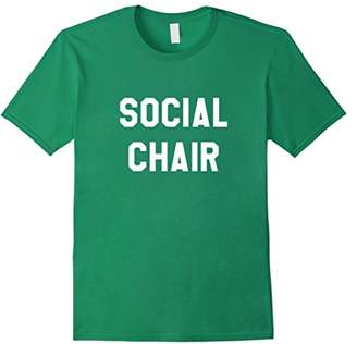 Social Chair Funny Popular T-Shirt