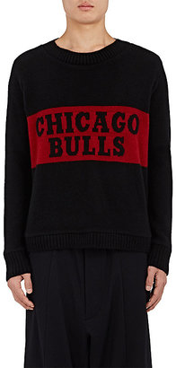 "The Elder Statesman X NBA Men's ""Chicago Bulls"" Cashmere Sweater $1,620 thestylecure.com"