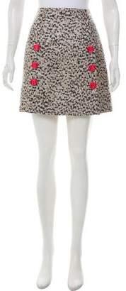 Dolce & Gabbana Brocade Mini Skirt