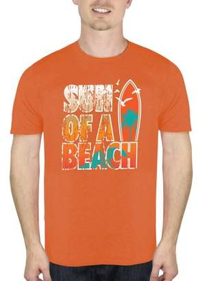 Humör Men's Sun Of A Beach Graphic T-Shirt, up to Size 2XL