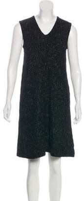 Creatures of Comfort Wool Sleeveless Mini Dress Black Wool Sleeveless Mini Dress