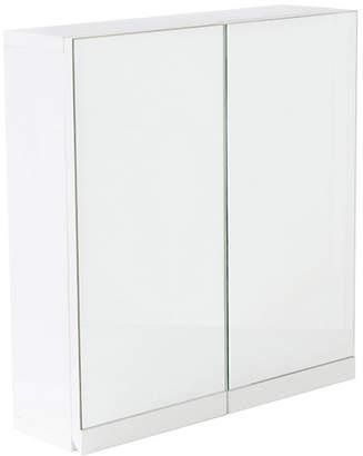 At Argos Hygena Gloss 2 Door Bathroom Wall Cabinet White