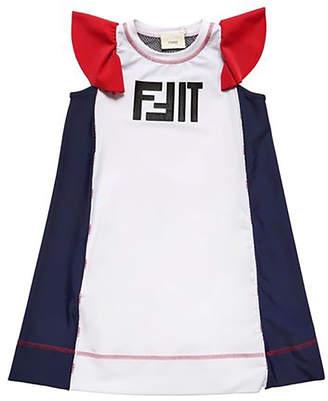 Fendi 4y-8y girls fit sport dress
