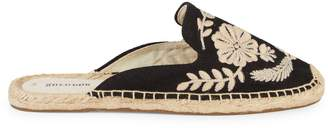 Soludos Tuillerie Embroidered Floral Espadrille Mules