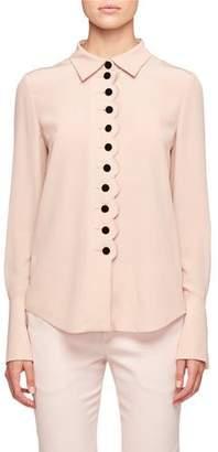 Chloé Blouse with Velvet Buttons