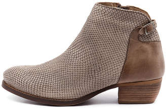 EOS Erisa Taupe Boots Womens Shoes Casual Ankle Boots