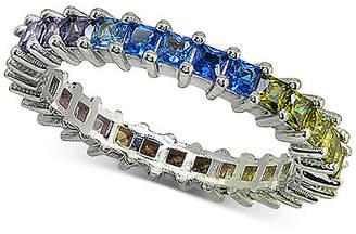 Giani Bernini Cubic Zironia Rainbow Ring in Sterling Silver